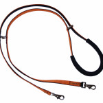 Use as Double Leash and walk two dogs or connect both snaps to your harness